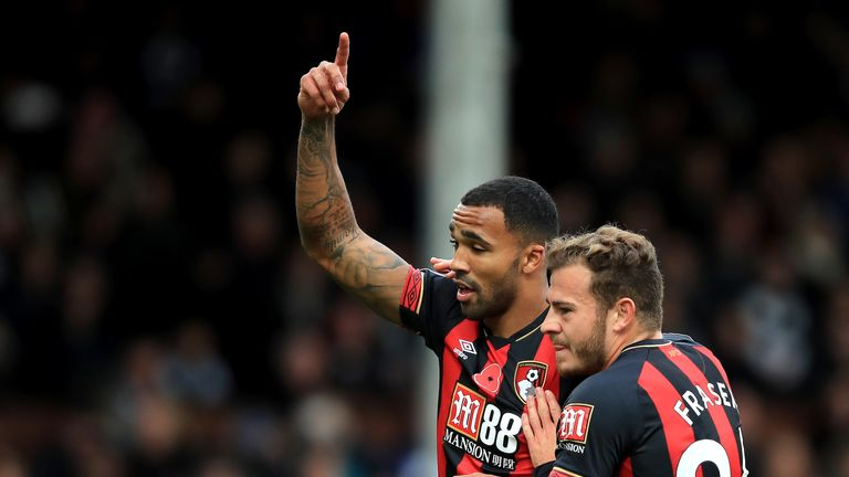 Ryan Fraser assisted seven goals for Callum Wilson in the Premier League, while Wilson teed up five for Fraser
