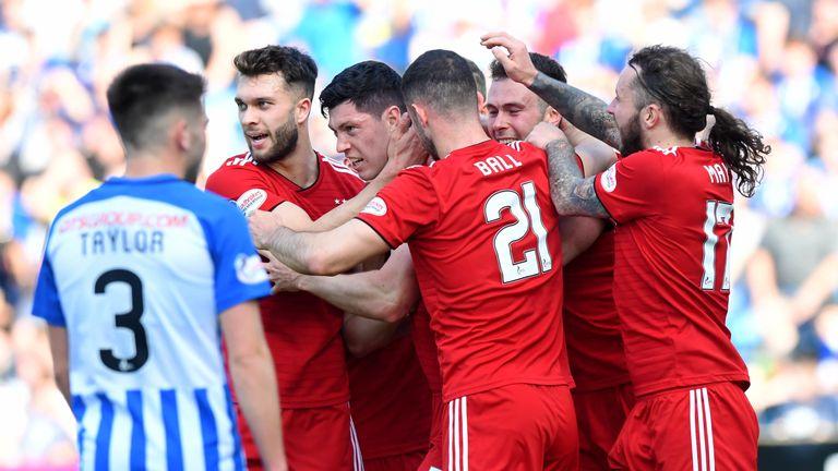 Scott McKenna scored the winning goal for Aberdeen