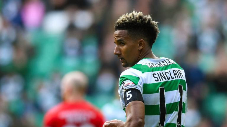 Scott Sinclair remains on the periphery of Celtic's first team, but will he secure a move elsewhere?