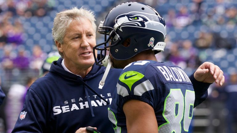 Pete Carroll says Doug Baldwin has been 'extraordinary' for Seattle, on and off the field