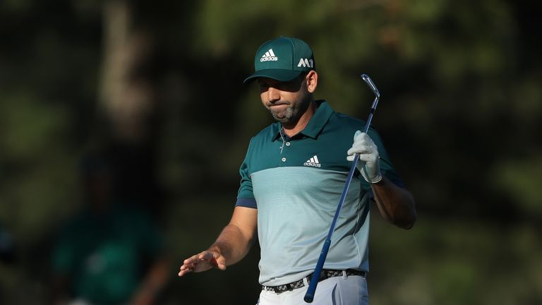 Garcia is Europe's all-time record Ryder Cup points scorer