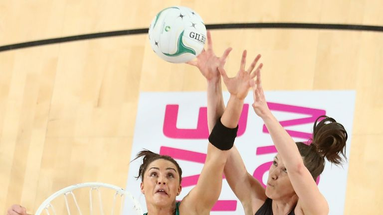 Sharni Layton knows how to prevail on the Netball World Cup stage