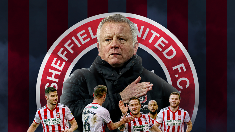 Chris Wilder has achieved three promotions in four seasons - two with boyhood club Sheffield United