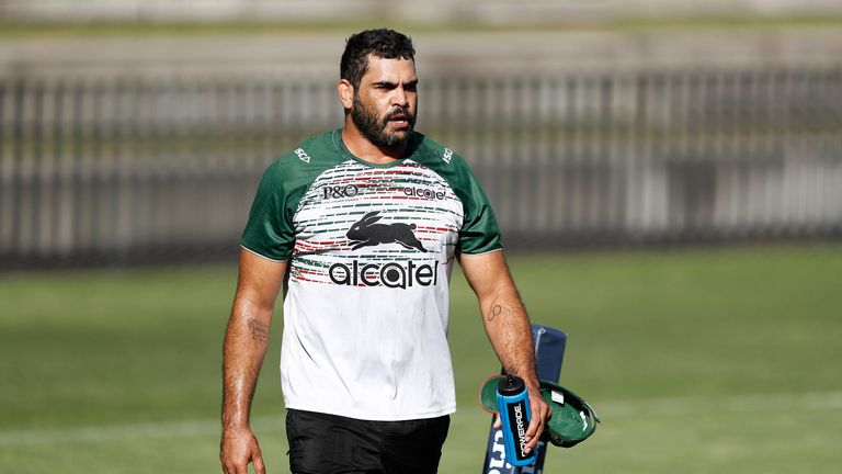 South Sydney's Greg Inglis is another big name NRL star suffering with injuries