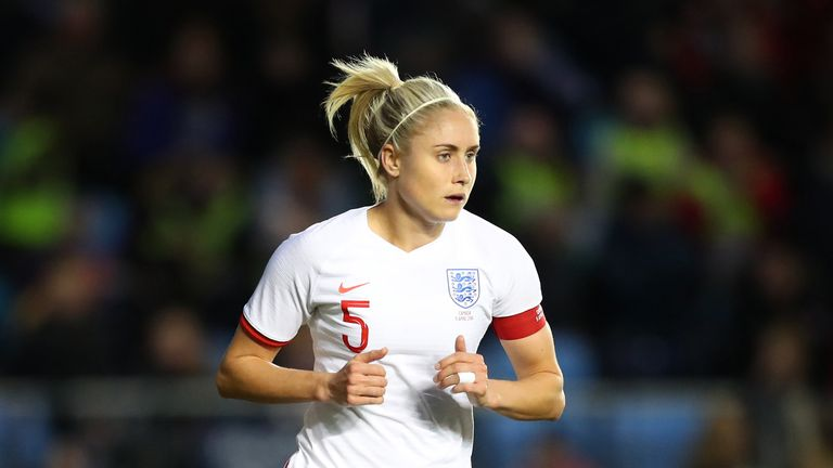 Steph Houghton suffered 'mild groin pain' during England's 1-0 defeat to Canada