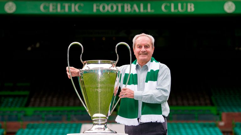 Chalmers was part of Celtic's European Cup-winning side of 1967