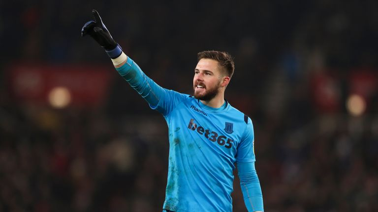 Jack Butland wants to leave Stoke and return to the Premier League