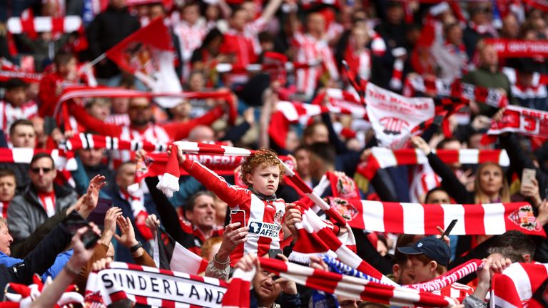 Sunderland's average attendance (39, 249) trumps the likes of Juventus, Roma, Everton and Lyon