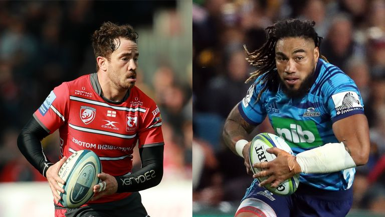 Danny Cipriani (L) and Ma'a Nonu make this week's team