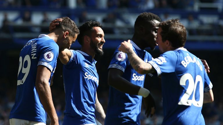 Everton have won four of their last five league games
