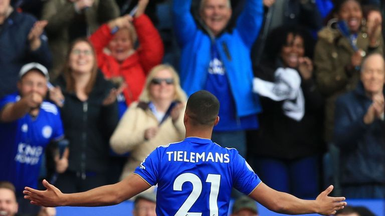 Tielemans lew to Birmingham on Friday eveningwith a view to finalising the deal