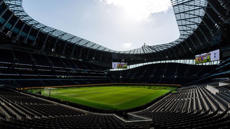 Spurs won their first game at the Tottenham Hotspur Stadium on Wednesday
