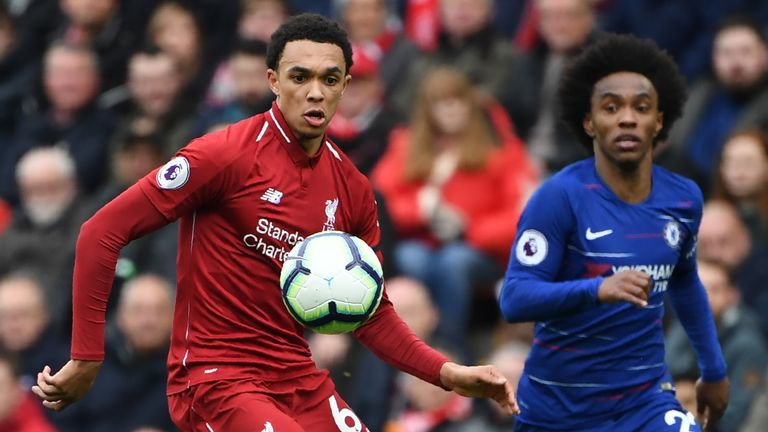 Liverpool had the edge on Chelsea in their 2-0 win at Anfield on Sunday