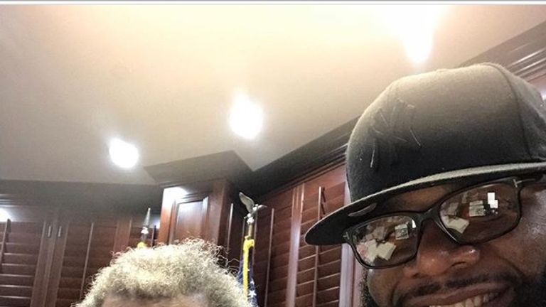 Trevor Bryan has the backing of veteran promoter Don King (Pic courtesy of Trevor Bryan's Instagram account)