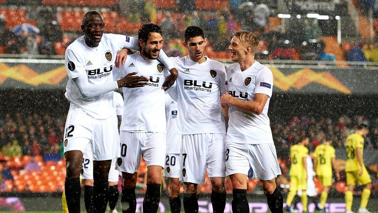Valencia are through to the Europa League semi-finals