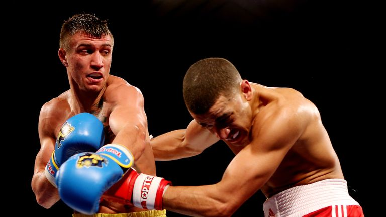 Maxwell produced a creditable performance in second loss to Lomachenko