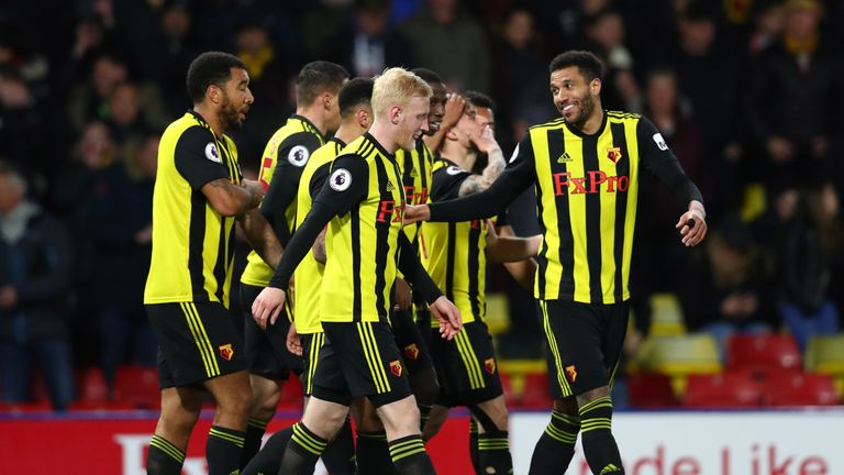 Watford boosted their European qualification hopes with their heavy win