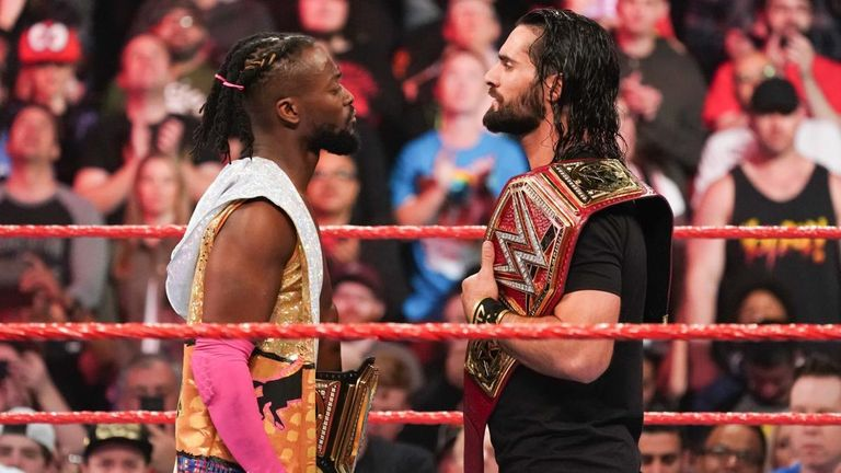 Seth Rollins and Kofi Kingston agree to a winner takes all match for both titles on last week's Raw, but The Bar intervened
