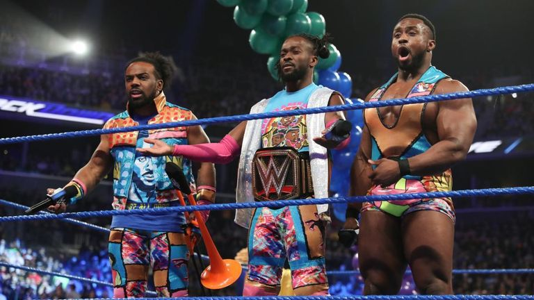 WWE SmackDown: The New Day return in huge six-man tag-team match