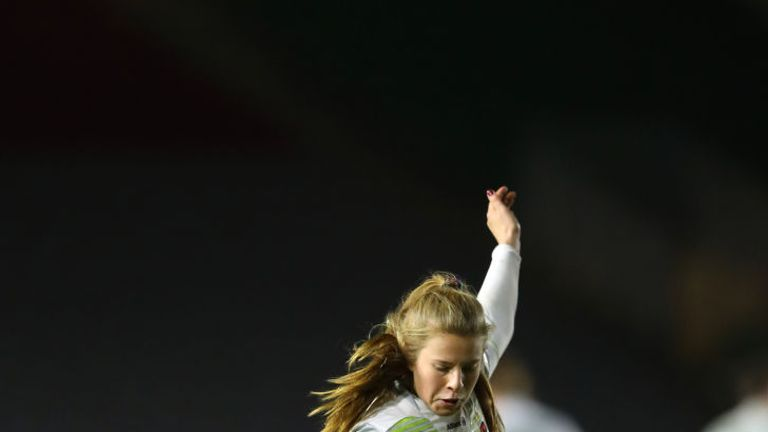 Zoe Harrison makes the cut this week. Find out who joins her in our XV below...
