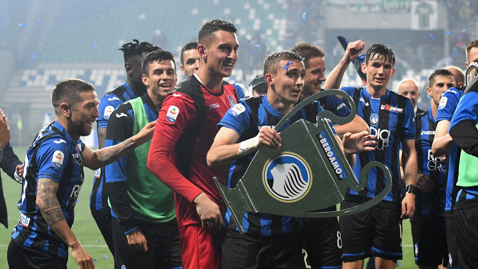 How Atalanta stormed Serie A to secure Champions League ...