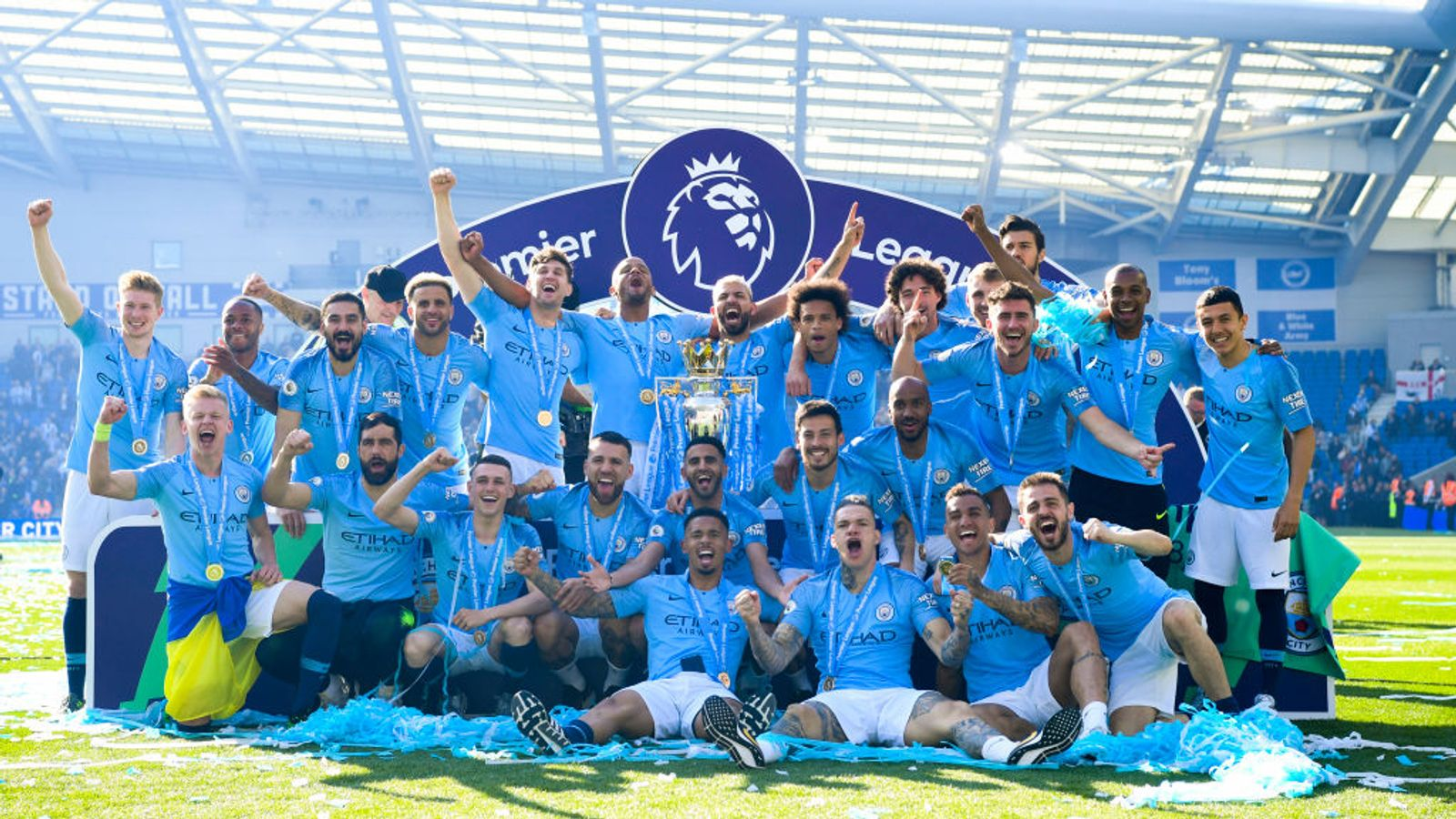 Gary Neville says Manchester City are the greatest Premier