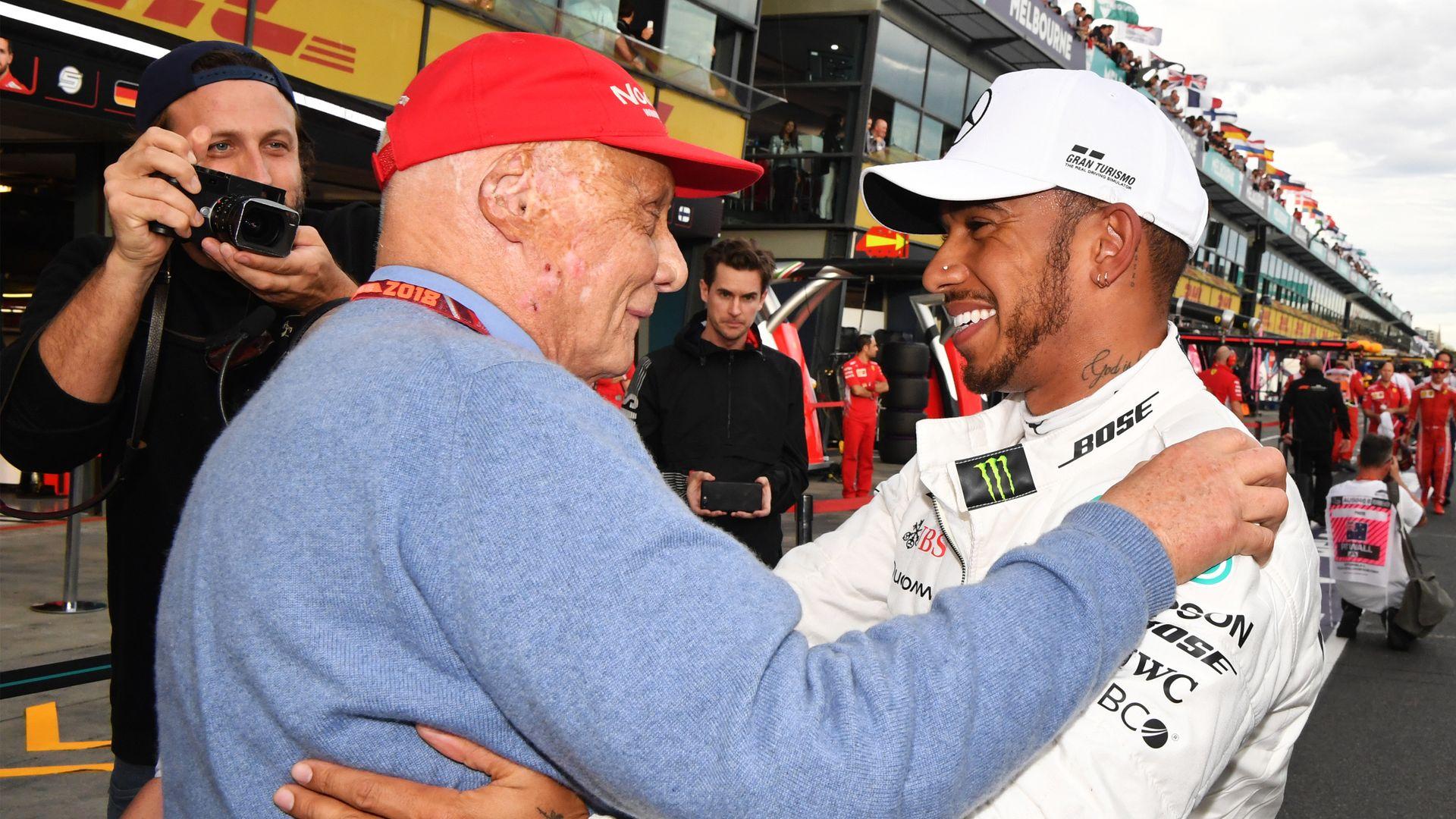 Remembering Lauda: Hamilton hails 'huge impact'