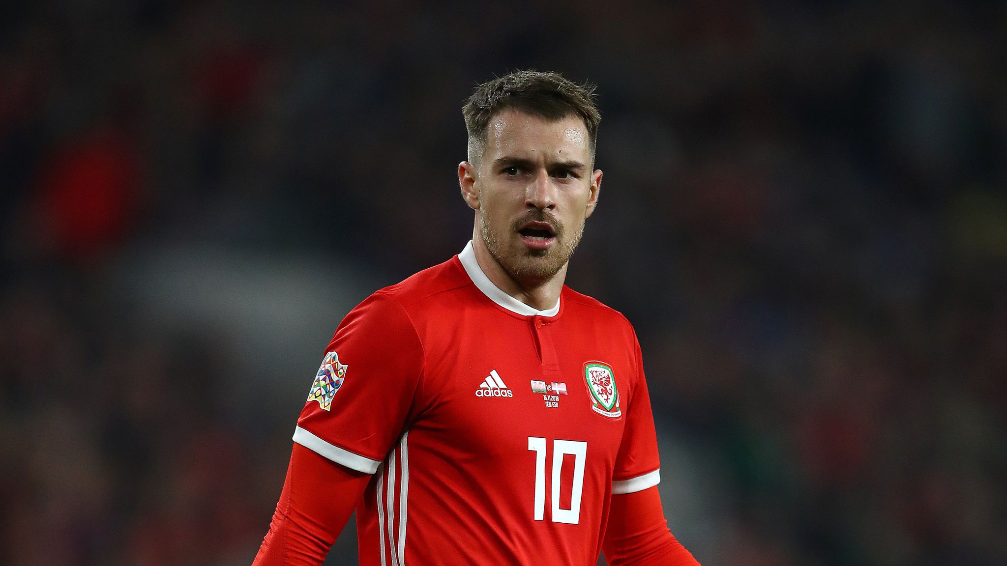 Aaron Ramsey out of Wales vs Croatia European Qualifier with thigh injury