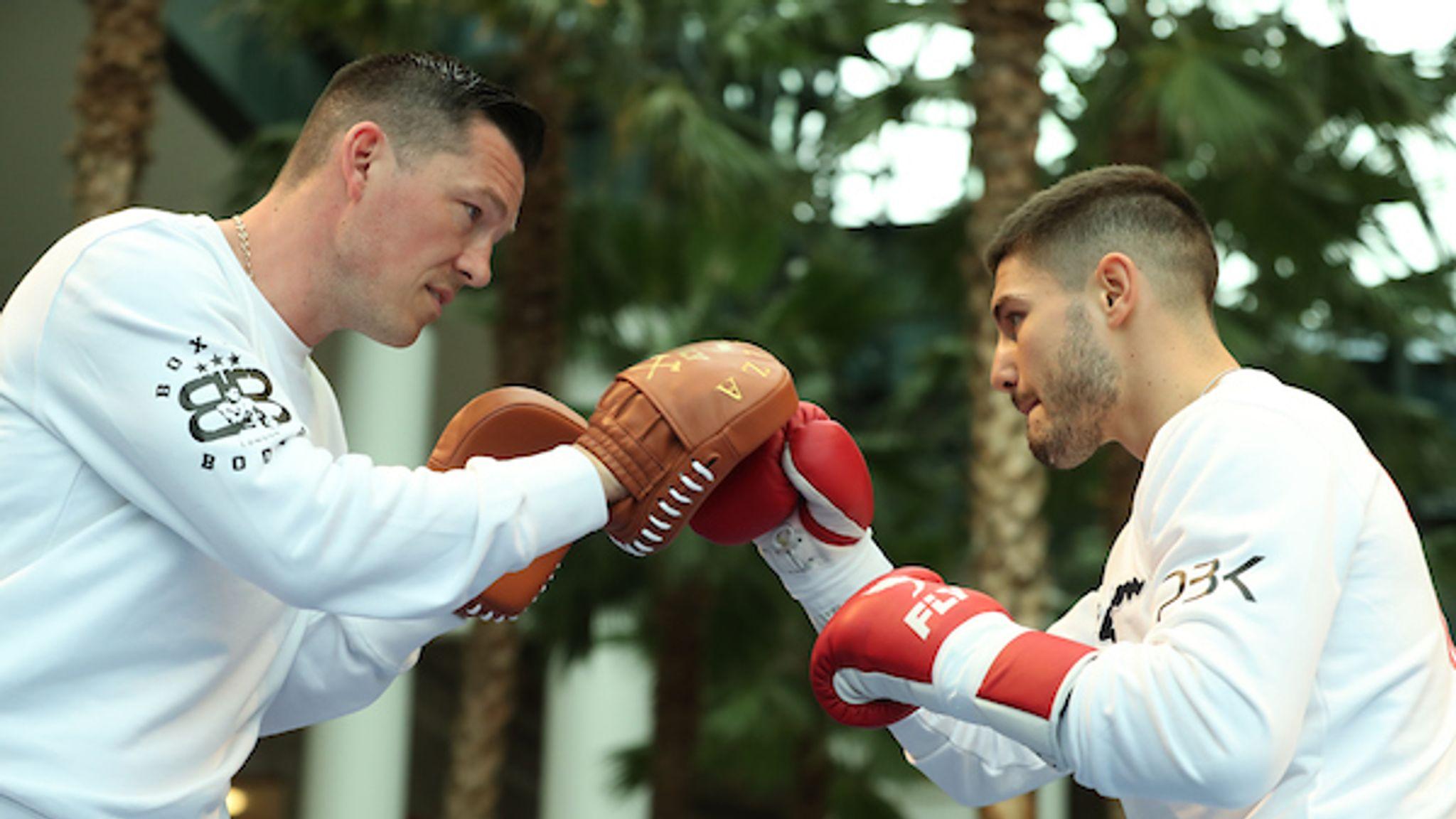 Joshua vs Ruiz Jr: Josh Kelly vows 'to do it in style' against Ray Robinson