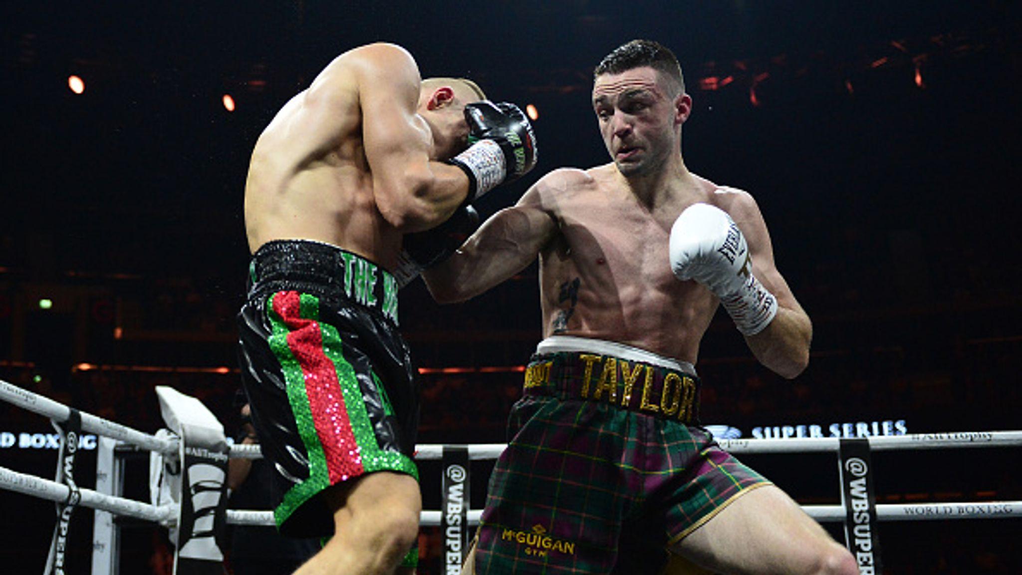 Taylor vs Baranchyk: Josh Taylor wins IBF world title after tremendous performance
