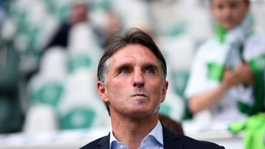Bruno Labaddia steered VFL Wolfsburg to sixth place in the Bundesliga and Europa League qualification this season