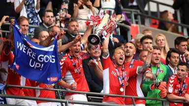 Charlton win the League One play-off final