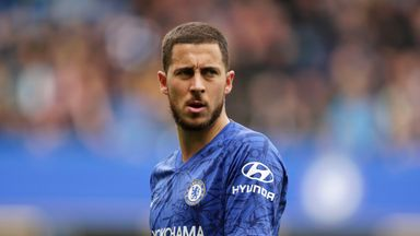 Eden Hazard is being linked with a move to Real Madrid