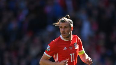 Bale named in Wales training camp squad