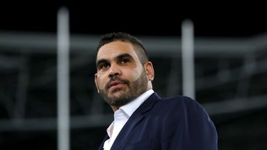 Greg Inglis retired in April and took on a community project role with the Rabbitohs