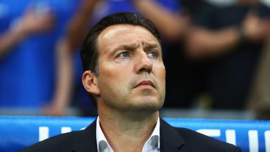 Marc Wilmots has signed a three-year contract with Iran