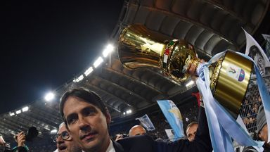 Simone Inzaghi has brought silverware back to Lazio after a five-year absence