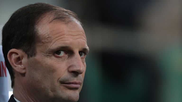 Massimiliano Allegri left Juventus at the end of the season after five years in Turin