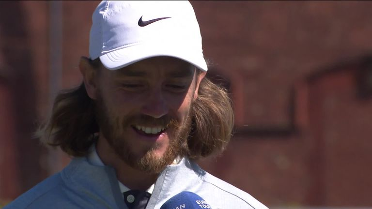 Tommy Fleetwood said hosting the British Masters at Hillside has been 'a very, very special week'