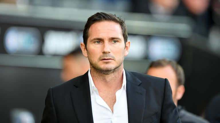Frank Lampard is the favourite to take over as Chelsea boss