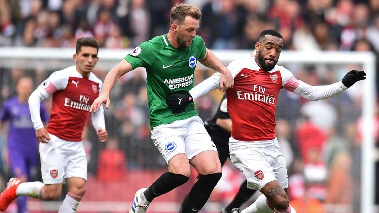 Highlights from Arsenal's draw with Brighton in the Premier League
