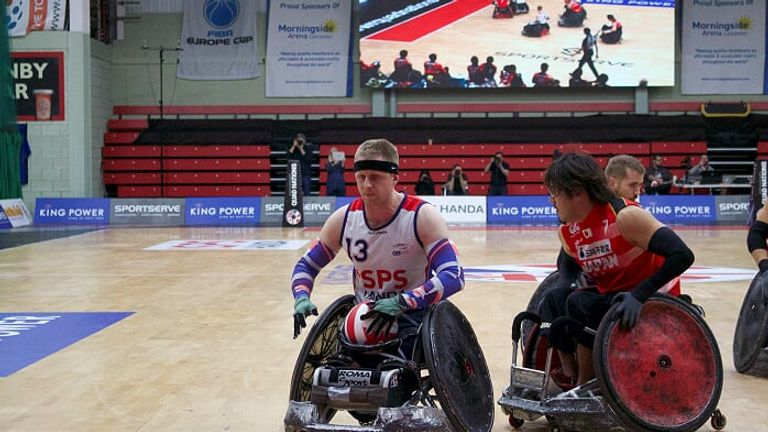Aaron Phipps is excited by Team GB's potential - Credit: Gemma Stevenson
