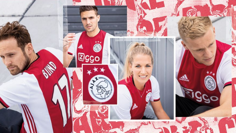 Ajax launched their new home kit the day after defeat to Tottenham