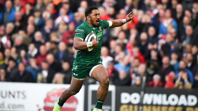 When Connacht centre Bundee Aki scored a try in the second half, the gap was reduced to one point