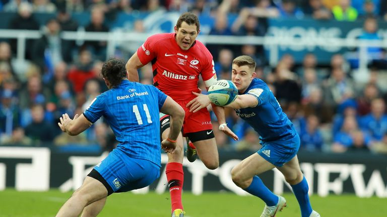 Alex Goode was a stand-out performer for Saracens in their charge for success