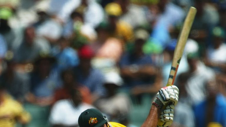 Andrew Symonds goes on the offensive for Australia at The Wanderers