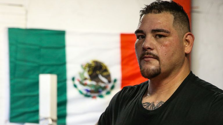 Andy Ruiz Jr has stepped in to replace Miller who failed a drugs test