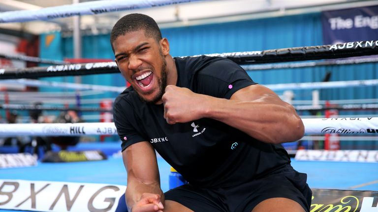 Joshua must adjust his preparations for a different challenger