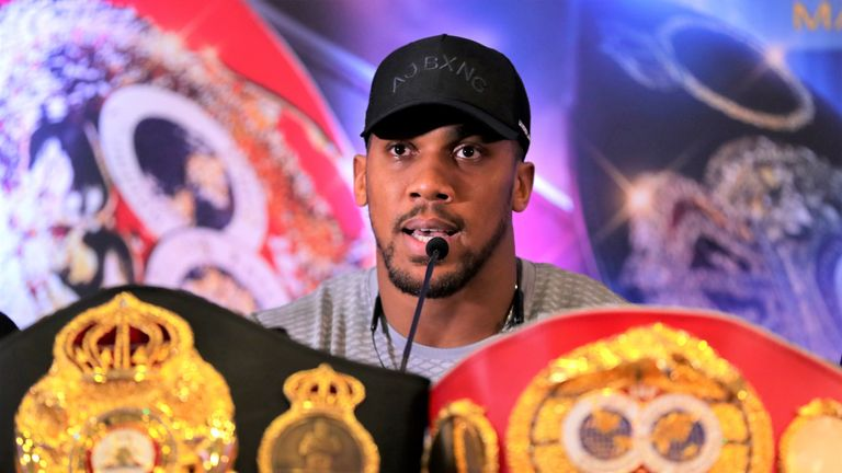 Anthony Joshua wants undisputed fight with Deontay Wilder, says Eddie Hearn