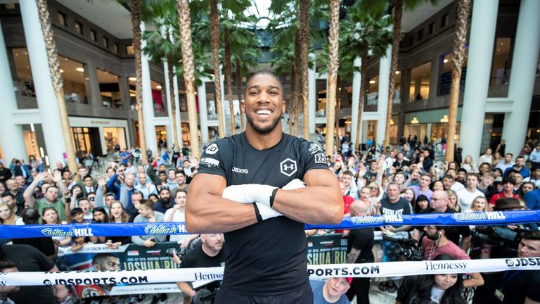 Anthony Joshua's immediate focus will be on Andy Ruiz Jr